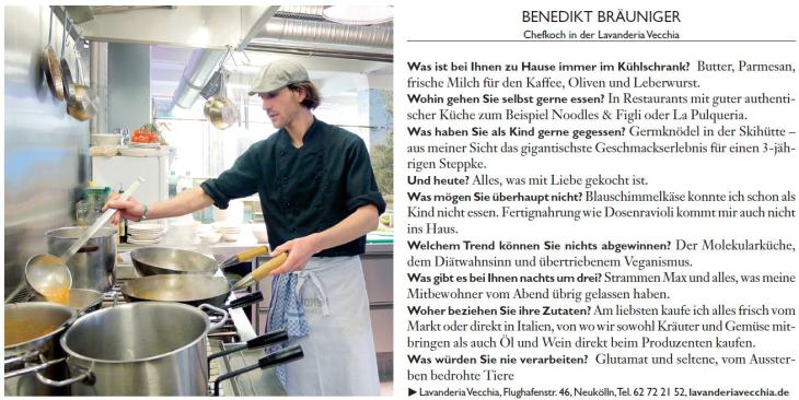 Prinz 2011 Interview Benni
