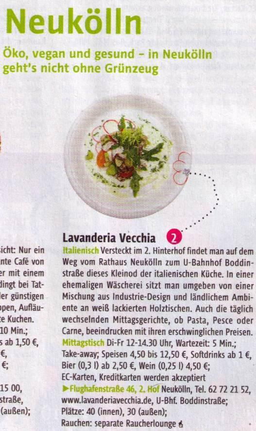 tip extra Mittagessen 4-2012