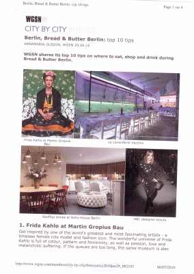 WGSN top10 Bread&Butter